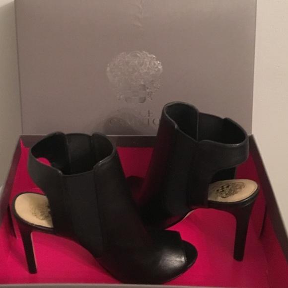 5d96120928 Vince Camuto Black Open Toe/Heel Boots BNWB. M_5bfc9e9861974560efefc1c4
